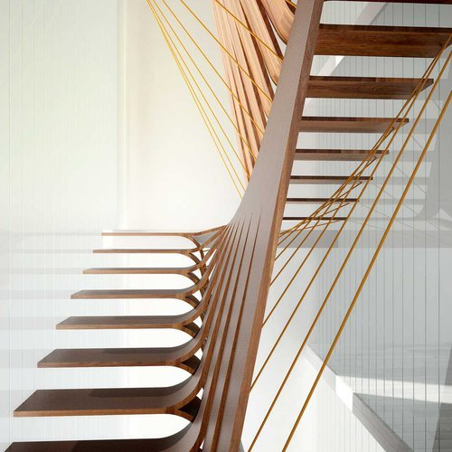 """Interior Residential Stair"" by Saieesha Adlakha_DM2 (Interior Design)"