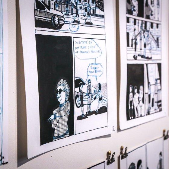 6B9A0074_MFA in Comics Exhibition 2016_Norrena_Hero