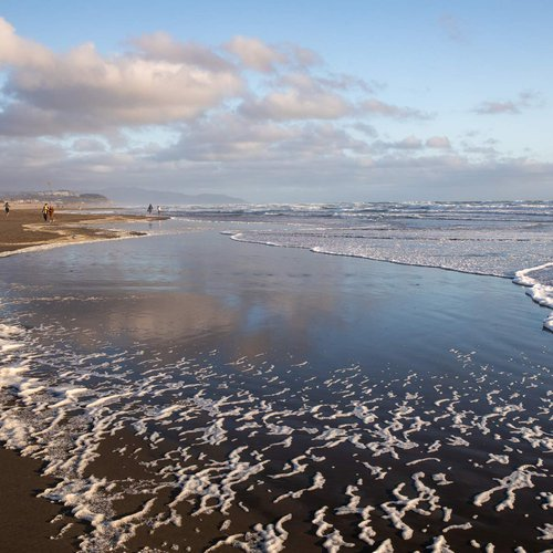 Adjacent to Golden Gate Park, Ocean Beach is a perfect place to find inspiration.