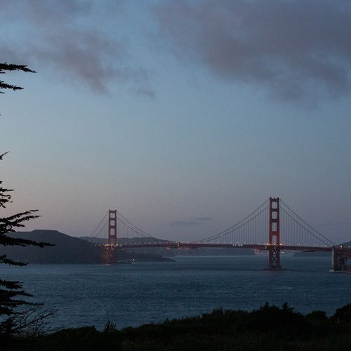 Work, live, and play with San Francisco's iconic Golden Gate Bridge as the backdrop.