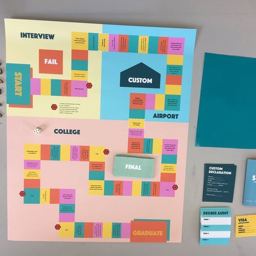 Gaming and Play course group project by students Santrupti Satpathy, Jane Chen, and Alice Wang.