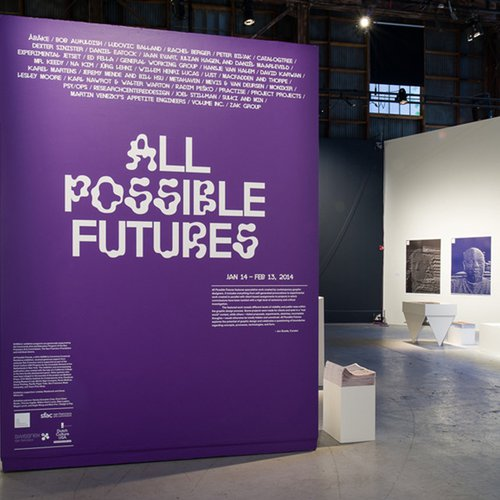 All Possible Futures Exhibition by Jon Sueda