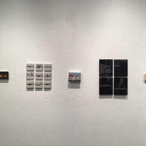 Allegra Samp's full curation of art show
