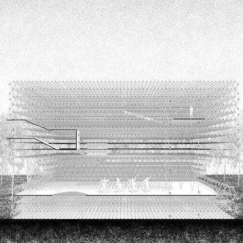 Chi Feng, Forest Pavilion, 2020. Courtesy of the Artist.