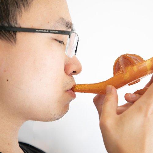 Dan Qian, Juicer, 2020. Sugar. Courtesy of the artist.