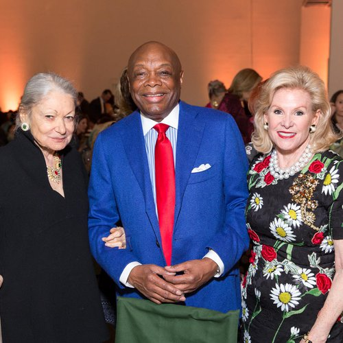 Denise Hale, Willie Brown, and Dede Wilsey