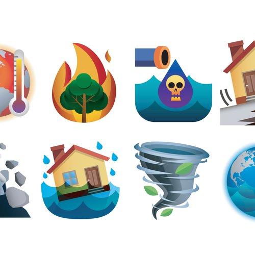 Emerji, emoji for climate change by Sara Dean and Beth Ferguson