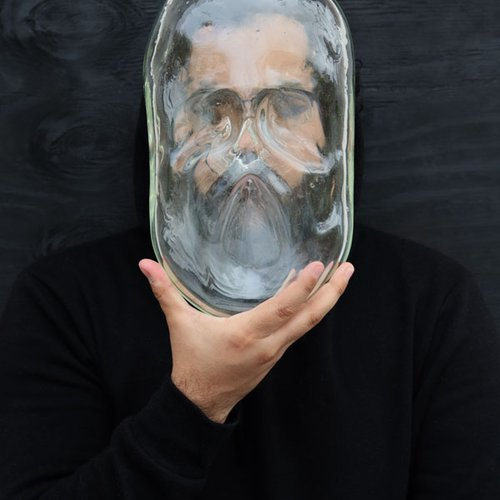 Jose Ugas, Familiar Impression. Photographed glass. Courtesy of the artist.