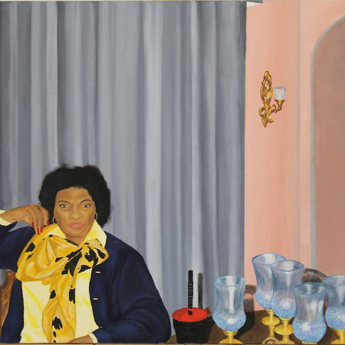 Michon Sanders, Aunties. Oil on canvas. Courtesy of the artist.