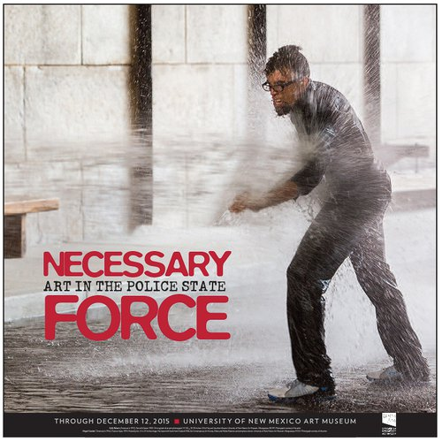 An exhibition Fiss co-curated with Kymberly Pinder called Necessary Force: Art in the Police State, 2015.