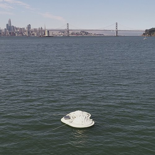 CCA Float Lab prototype in the San Francisco Bay.