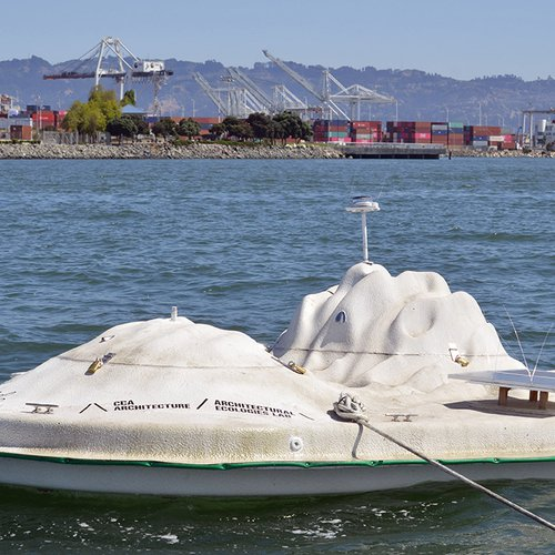 CCA Float Lab deployed in the San Francisco Bay.