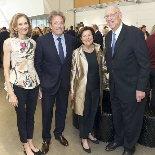 Jennifer & Douglas Biederbeck, Mary Robinson, Chairman of the Board Art Gensler