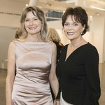 Author Jennifer Egan and her mother, Honoree Kay Kimpton Walker.