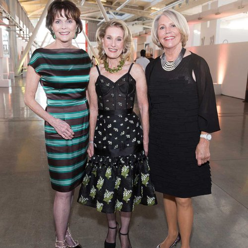 2018 Gala Honoree Kay Kimpton Walker, CCA Trustee Lorna Meyer Calas, and Patricia Fitzpatrick