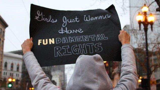 Market Street protest