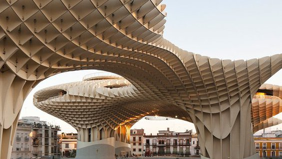 Metropol Parasol in Seville, Spain_Architecture Study Abroad_feature_MB