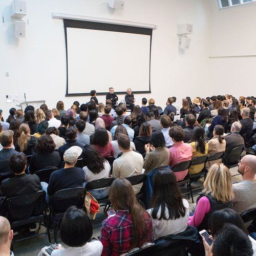 Audience at Changed By Design: Tim Brown (IDEO) + Barry Katz
