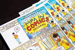 MFA in Comics - San Francisco / Oakland | CCA
