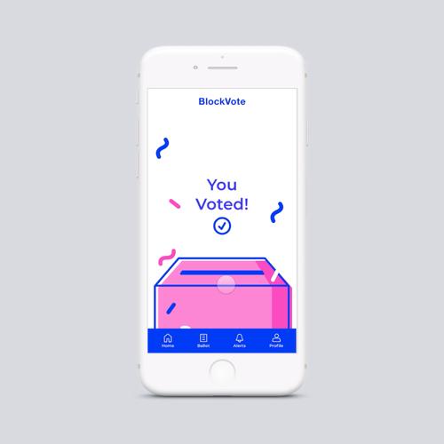 BlockVote, experience design