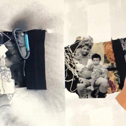 Simin Li, Process Fabric Board_2020. Mixed Media. Courtesy of the artist.