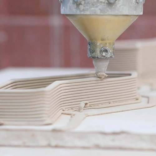 For architects and ceramicists alike, these Potterbot clay printers bring intricate, computer-modeled designs to life.