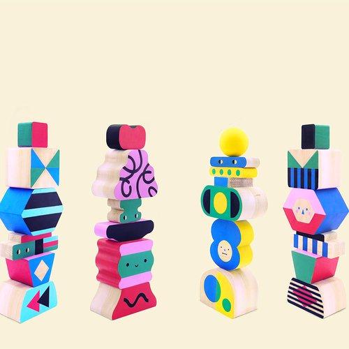 Play Bloc Stack Toy, Vanessa Lim