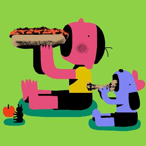 Lunchtime!, Daniel Zhou