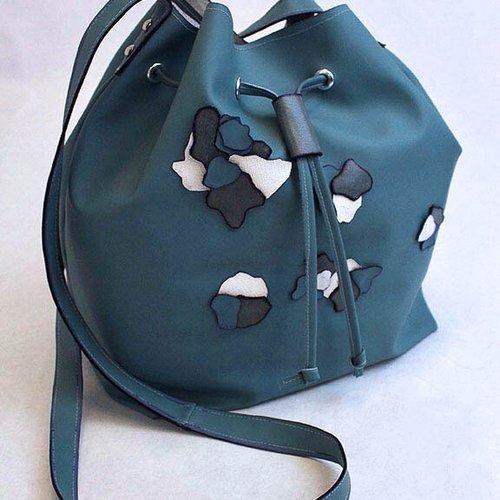 Bucket bag by Melissa Rodriguez.