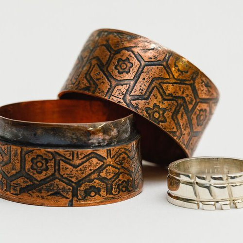 Jewelry by Melissa Rodriguez.