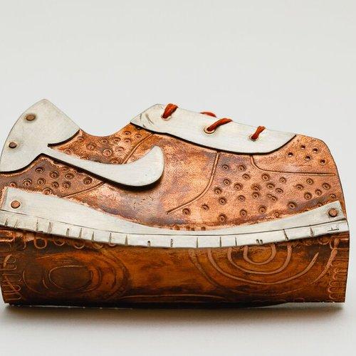 Shoe prototype by Melissa Rodriguez.