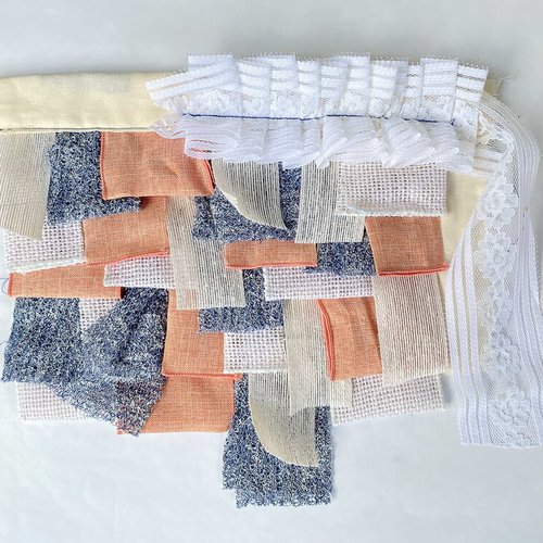 Textile art by Melissa Rodriguez.