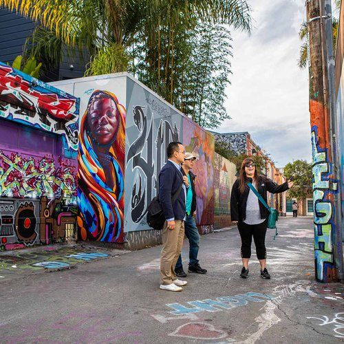 The Mission District's Clarion Alley is the place to find public art and socially conscious murals.