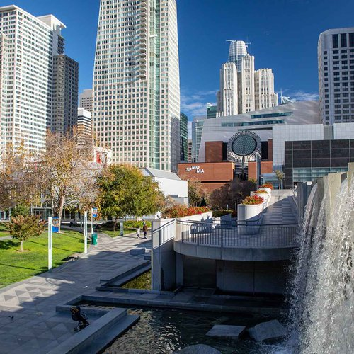 The San Francisco Museum of Modern Art and Yerba Buena Center for the Arts are two world-class museums close to CCA.