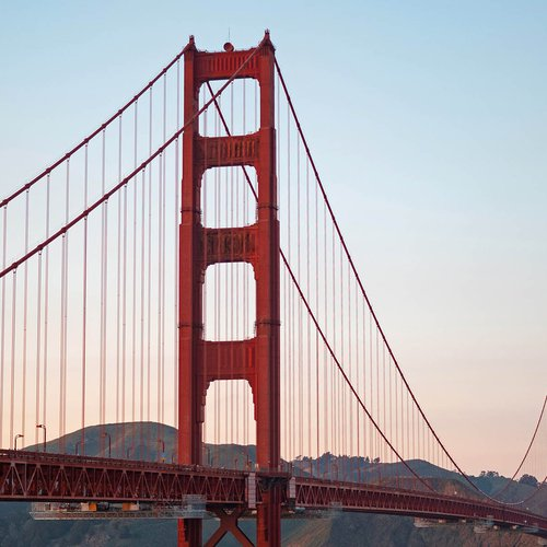 The iconic Golden Gate Bridge, which connects the city to Marin County, is walkable and bikeable. Trails and vistas are at both ends of the bridge, so make sure to bring your camera or sketchbook.