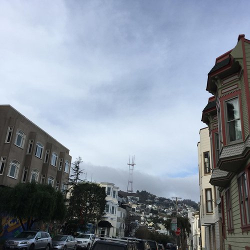 Castro District, San Francisco, CA, December 30, 2020. By Connie Jeung-Mills, staff.