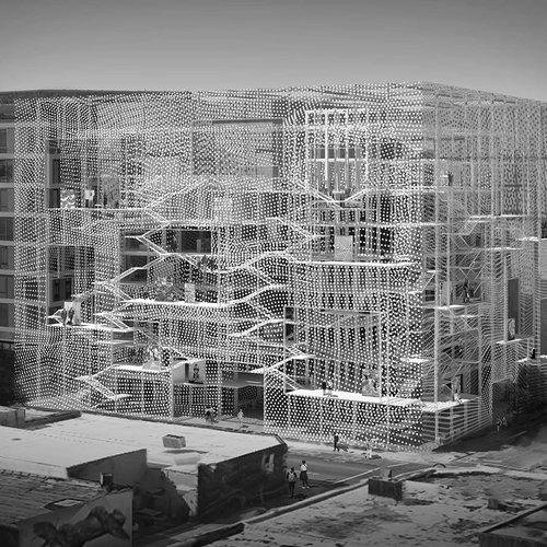 Architecture work by Zizheng Wu
