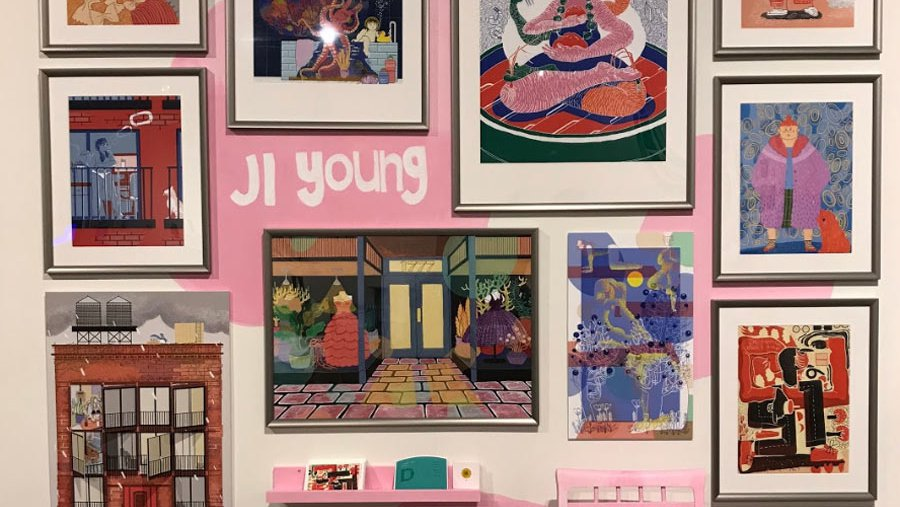 Ji Young, installation view_design_story feature_MB