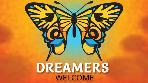 DREAMers Welcome Butterfly Design