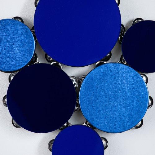 Lava Thomas (BFA Ceramics 1999), Blues Study, 2021. Mixed media, 23.25 x 22.75 x 2 inches. Value: $4,000.
