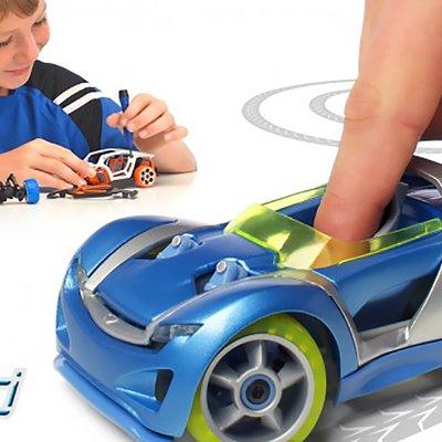 Brian Gulassa's toy cars made by modarri