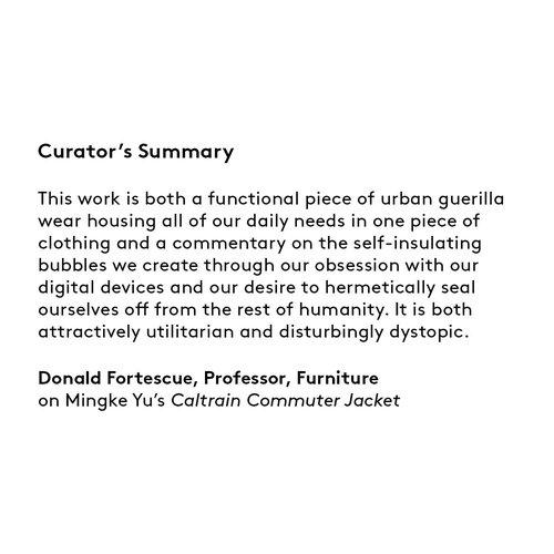 Curator's summary: Mingke Yu