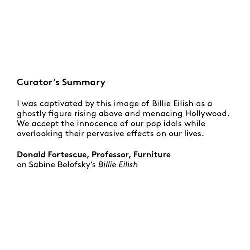 Curator's summary: Sabine Belofsky
