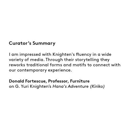 Curator's summary G Yuri Knighten