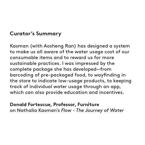 Curator's summary: Natalia Kasman