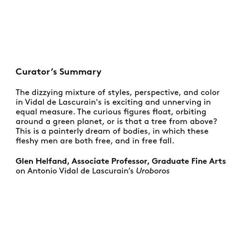 Curator's summary: Antonio Vidal de Lascurain.