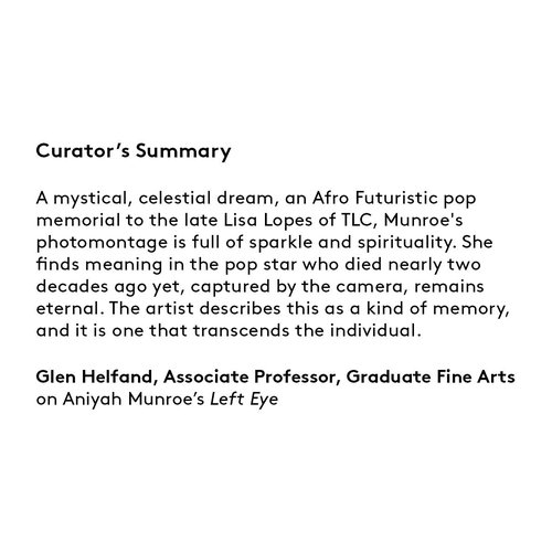Curator's summary: Aniyah Munroe.