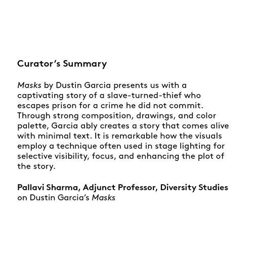 Curator's summary: Dustin Garcia.