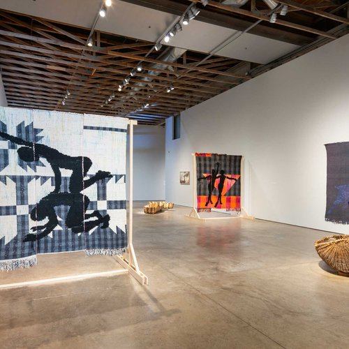 Diedrick Brackens: ark of bulrushes at the Scottsdale Museum of Contemporary Art, February 20–August 22, 2021.