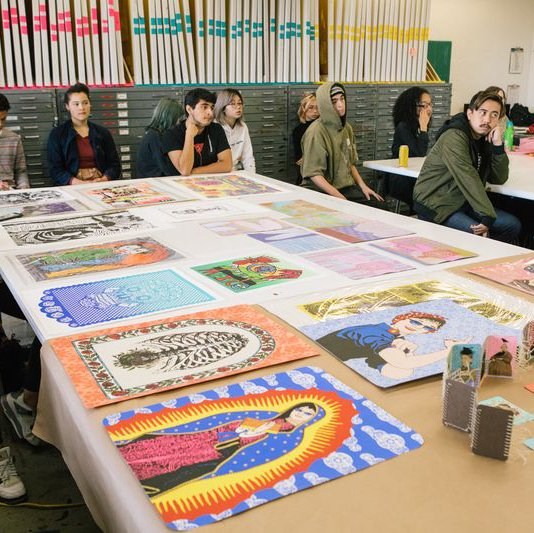 Printmaking Class in Oakland